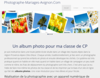 Screenshot photographe-mariages-avignon.com